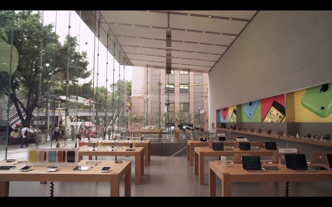 Apple omotesando youtube 2