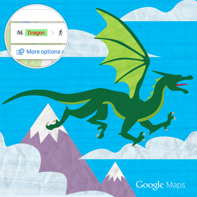 Googlemap dragon 1