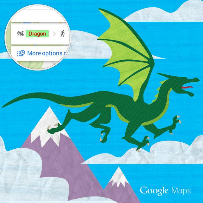 Googlemap dragon 1