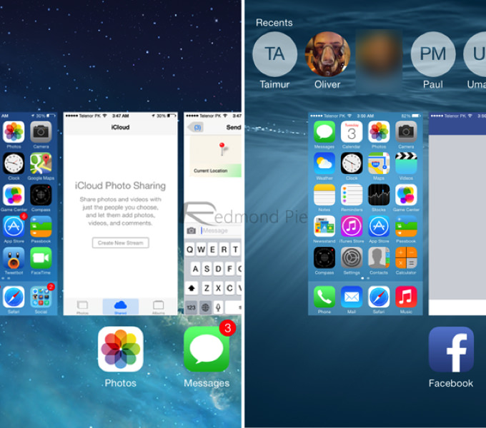 IOS 7 8 Visual Comparison 7