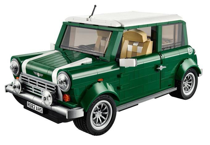 Lego mini cooper 2