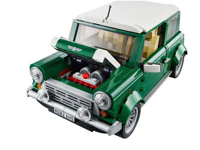 Lego mini cooper 3
