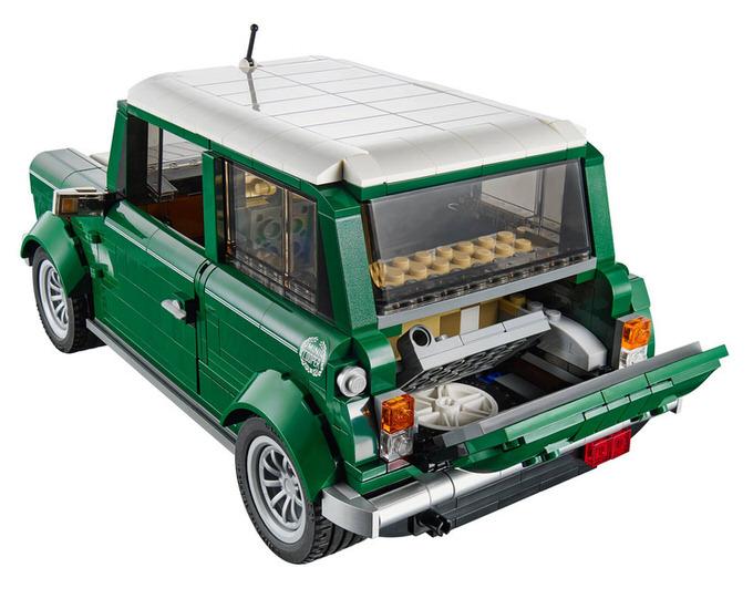 Lego mini cooper 4