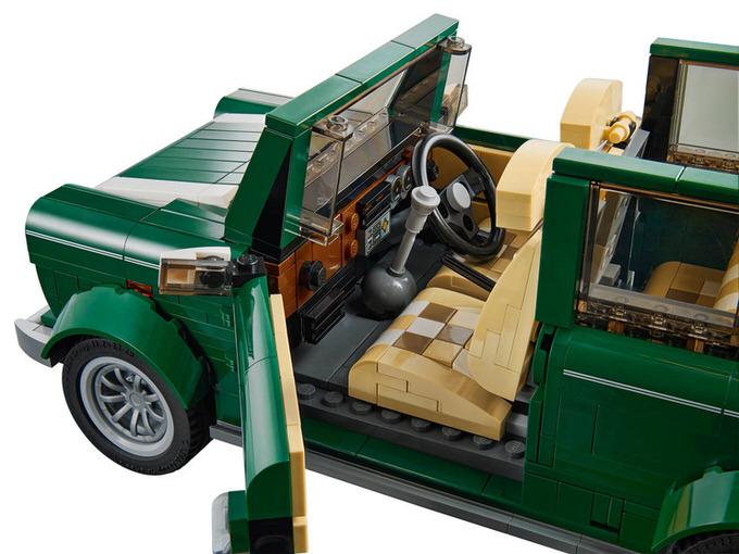 Lego mini cooper 7