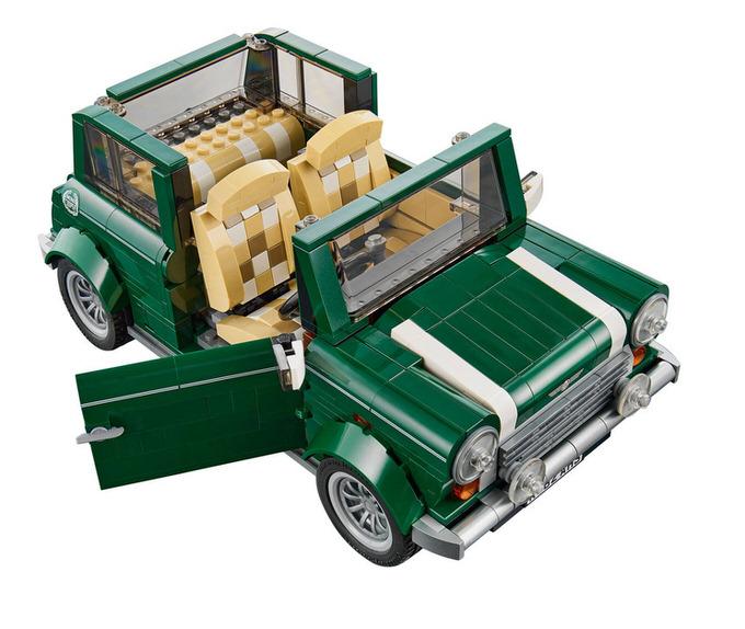 Lego mini cooper 8