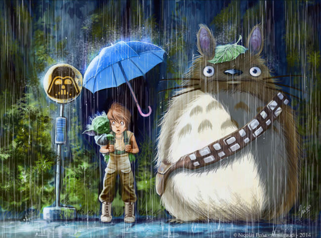 My neighbor totoro variations 14