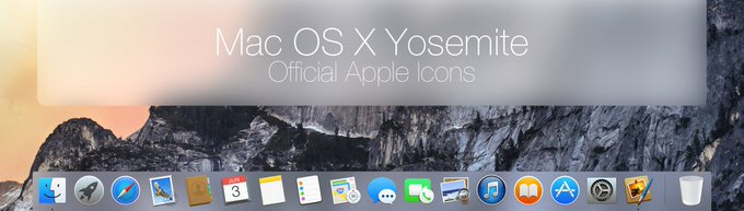 Updated mac os x yosemite official icons pack by johanchalibert d7kv34v