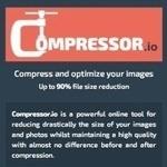 ほぼ劣化なしでJPG/GIF/PNG/SVG画像を超軽量化してくれる「Compressor.io」は要ブックマーク!