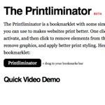 便利!Webページの必要な部分だけを印刷することができるWebサービス「Printliminator」