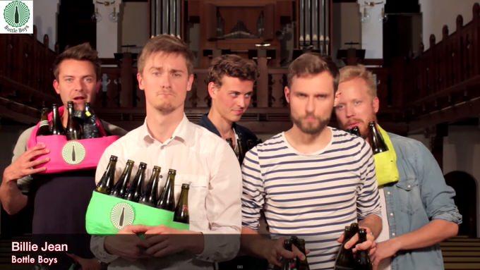 Youtube bottleboys billie jean