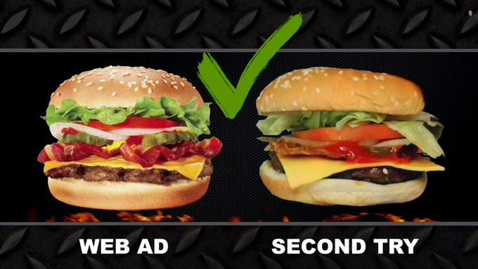 Youtube fastfood ads reality 5