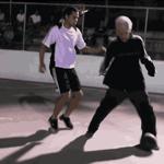 【動画】おじいさんのスーパープレイ!フットサルもバスケも圧倒的なテクニック!