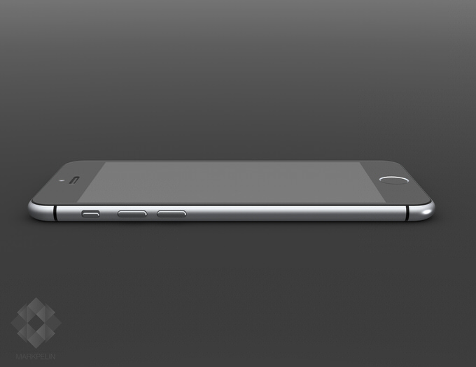 2mp iphone6 render left view
