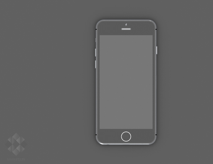 6mp iphone6 render front view