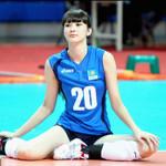 女子バレーカザフスタン代表のサビーナ選手が美人過ぎると話題
