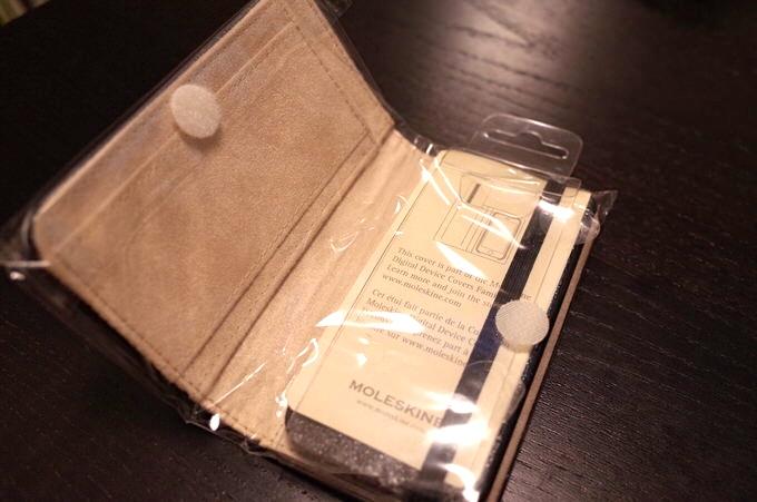 Iphoneaccessory moleskine case 2