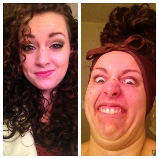 Pretty girls ugly faces 28