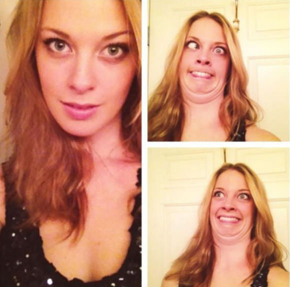 Pretty girls ugly faces 9