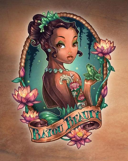 Disney princess pin ups 11