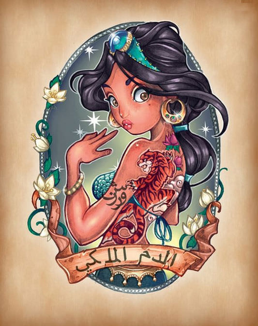 Disney princess pin ups 7