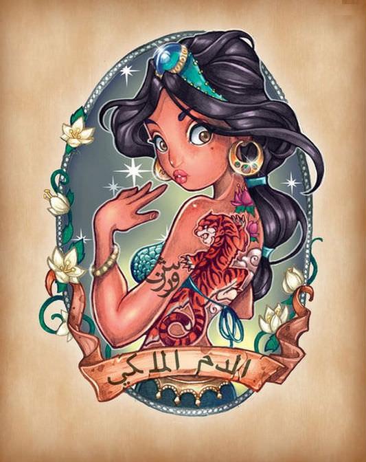 Disney princess pin ups 7