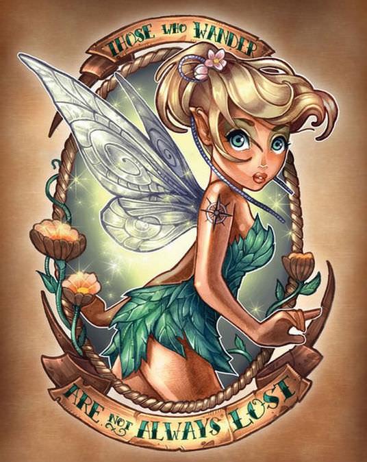 Disney princess pin ups 9