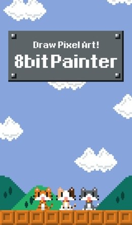 Iphoneapp 8bit painter 2