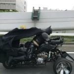 【動画あり】千葉県の高速道路でバットマンが走っていると話題
