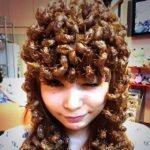 今年も閲覧注意!中川翔子さんがTwitterで毎年恒例の蝉の抜け殻ヘアーを公開