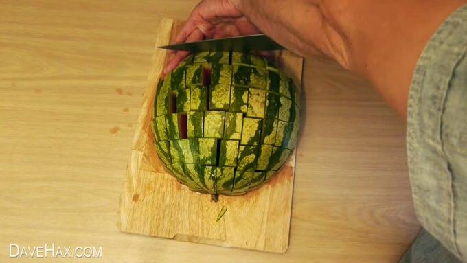Youtube watermelon cut 4