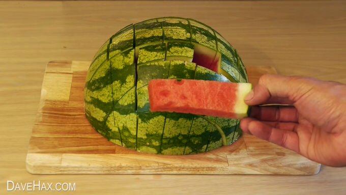Youtube watermelon cut 5