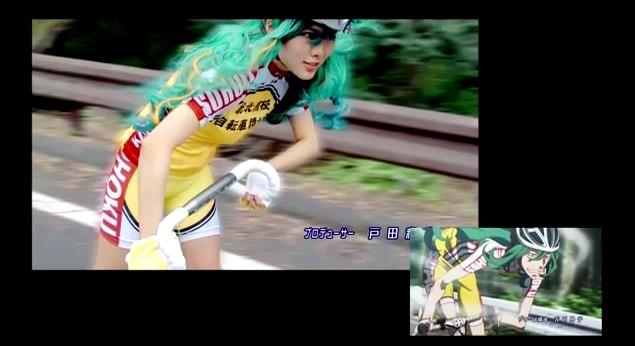 Youtube yowamushi pedal op kddi 2