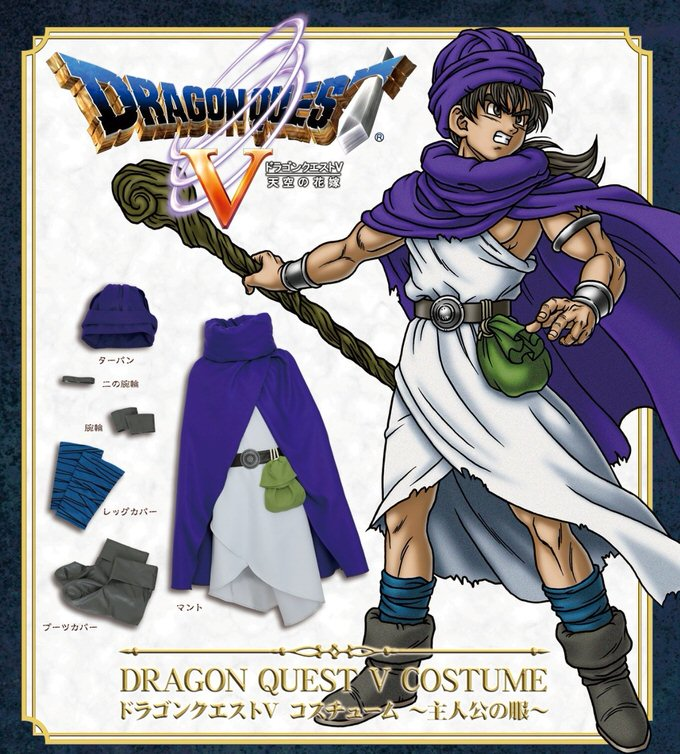 Dragonquestv costume 1