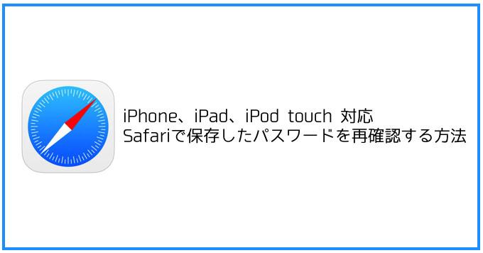 Iphone safari password find