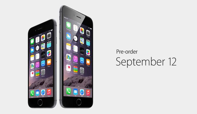 Iphone6 release daate 5