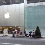 ビッグウェーブさんがApple Storeに並びはじめた!日本でもiPhone 6を求める行列がスタート