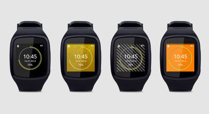 Smartwatch mykronoz and cogito 4