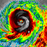 Super Typhoon Vongfong explodes  becomes most intense storm on Earth in 2014