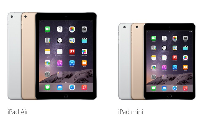 Ipad air 2 ipad mini 3 lte