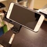 iPhone 6 Plusでも使える自撮り棒(セルカ棒)!ネタ製品と思っていたけどBluetoothでシャッターできて便利だ!