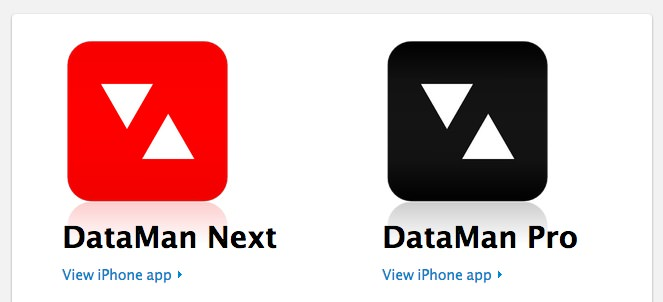 Iphoneapp dataman next