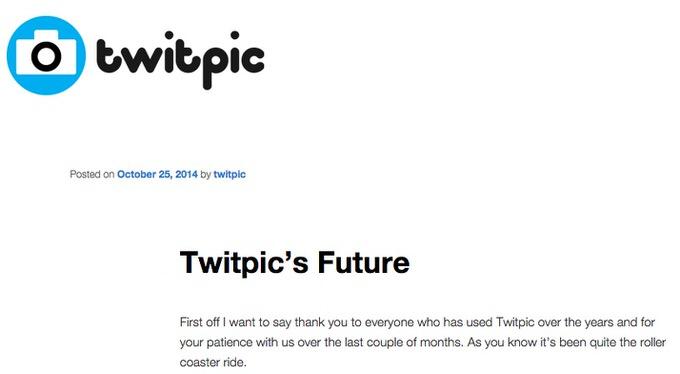 Twitpic archive