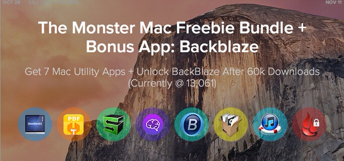 Monster mac freebie bundle