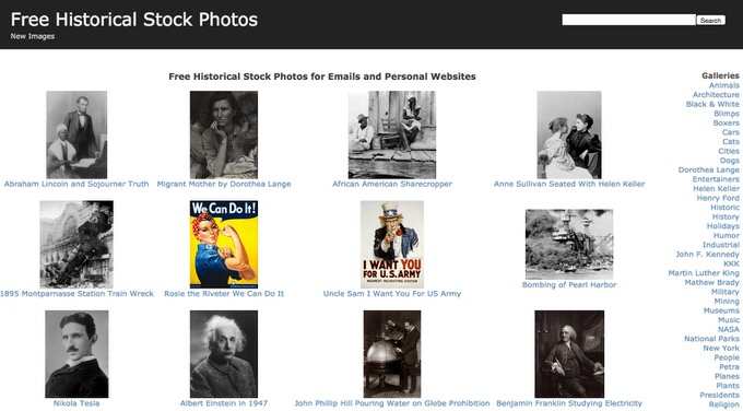 28 Historical Stock Photos