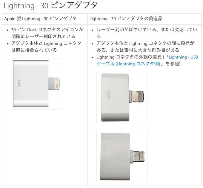 Apple lightning fake 4