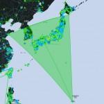 Ingress 日本列島と韓国が緑に沈む(CFはなくなりました)