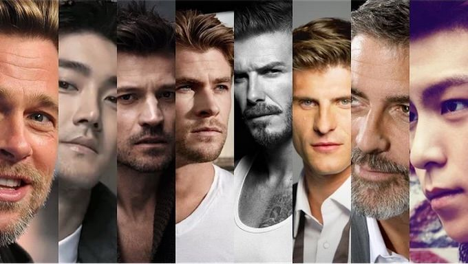 The 100 most handsome faces of 2014