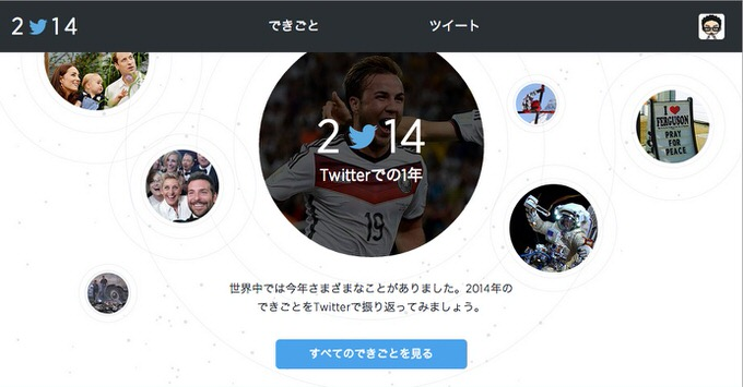 Twitter year in review 2014