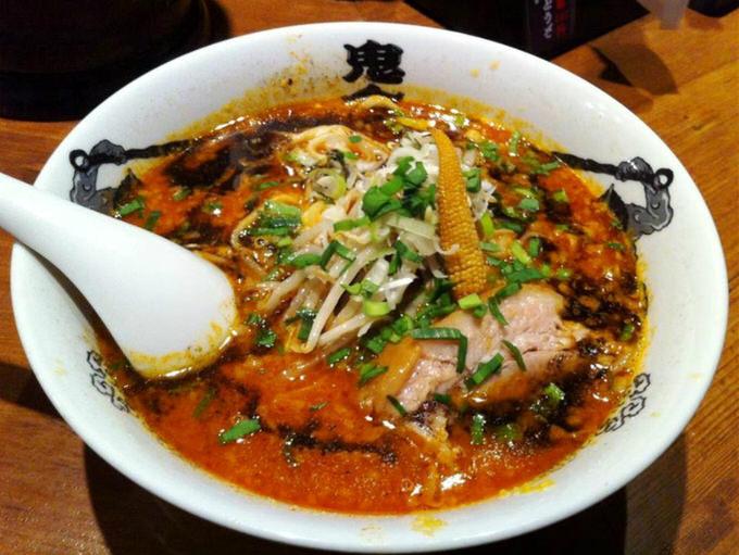 カラシビ味噌らー麺鬼金棒