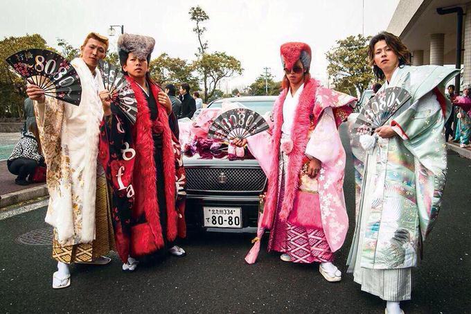【画像】北九州の成人式は2015年も安定のヤンキーだったと話題
